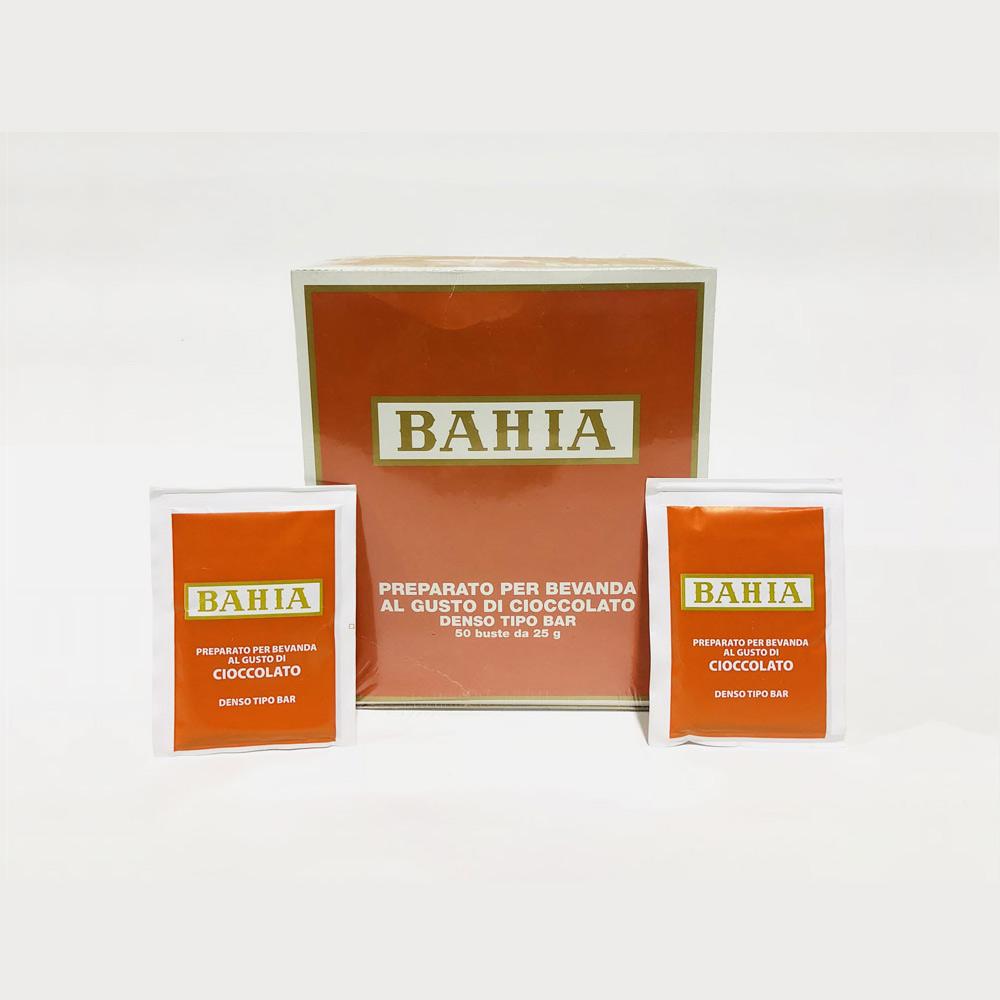Bahia ciocolata densa plic cutie 50 buc