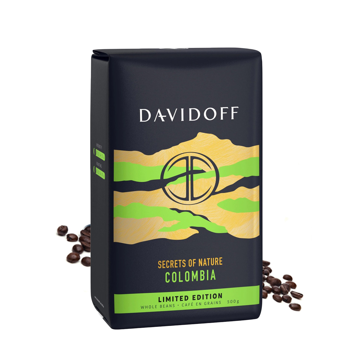Cafea boabe Davidoff Colombia Secrets of Nature 500g