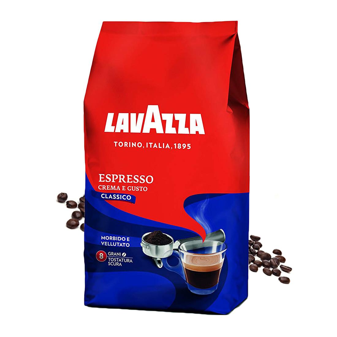 Lavazza Crema e Gusto Classico cafea boabe 1 kg
