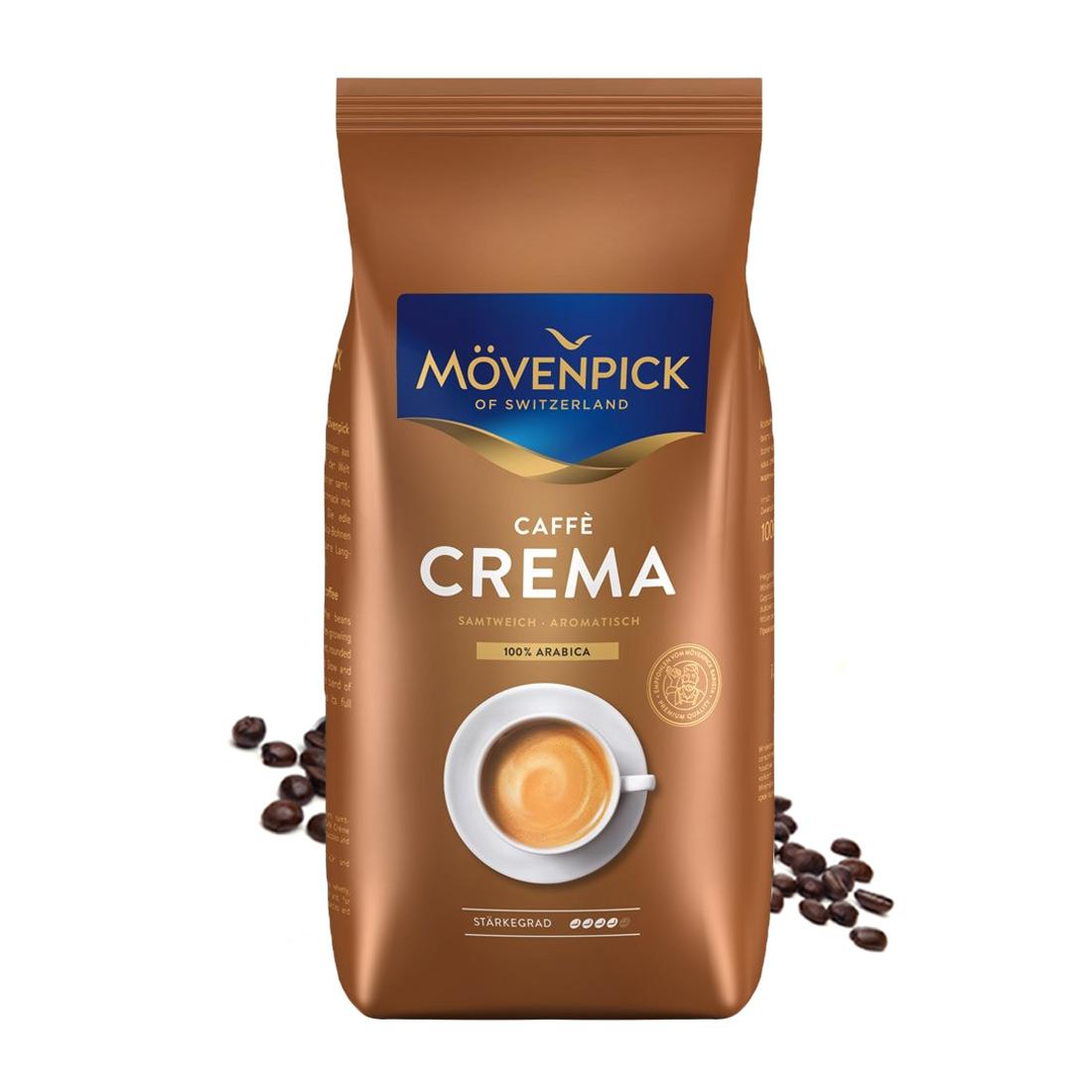 Movenpick Caffe Crema cafea boabe 1 kg