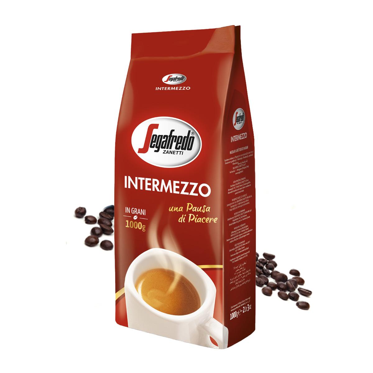Segafredo Intermezzo cafea boabe 1 kg