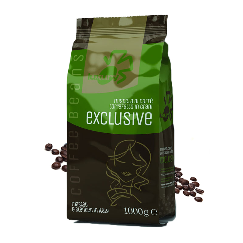 Luxury Exclusive cafea boabe 1 kg