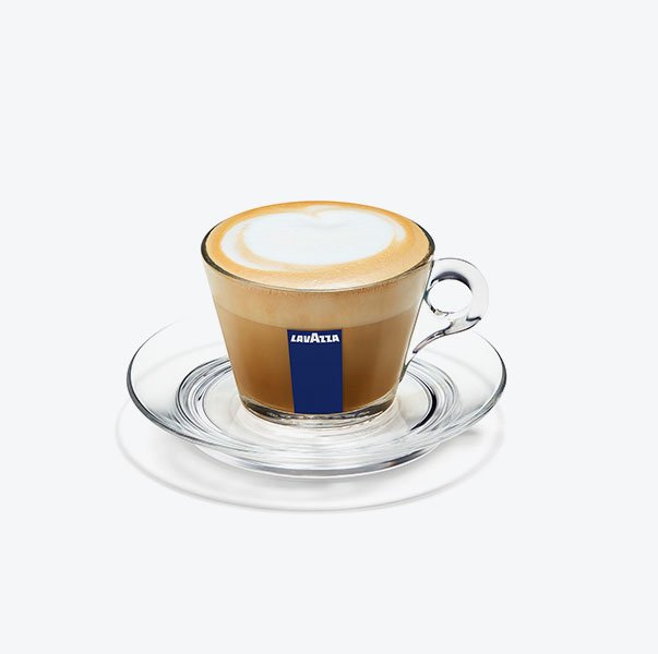 Lavazza cesti sticla Cappuccino si farfurii set 6 buc