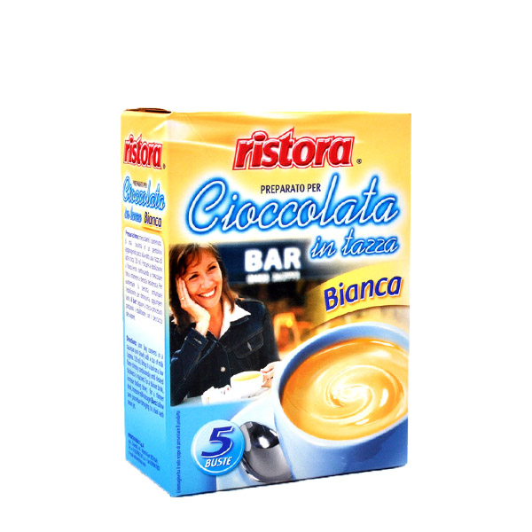 Ristora ciocolata alba densa plic set 5 buc
