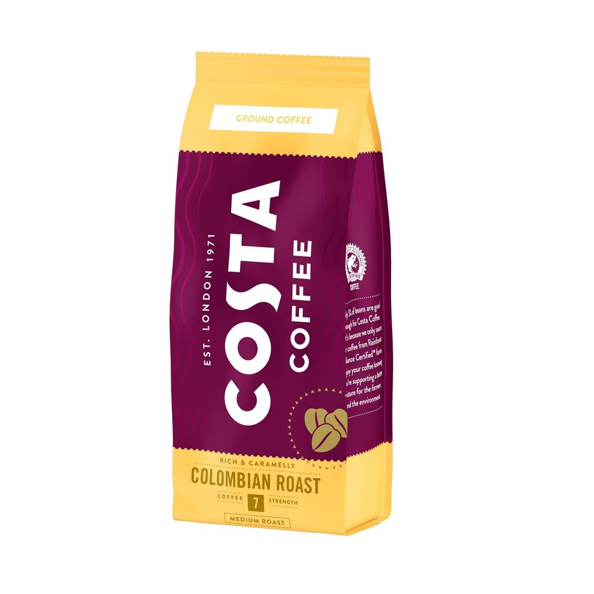 Costa Colombian Roast cafea macinata 200g