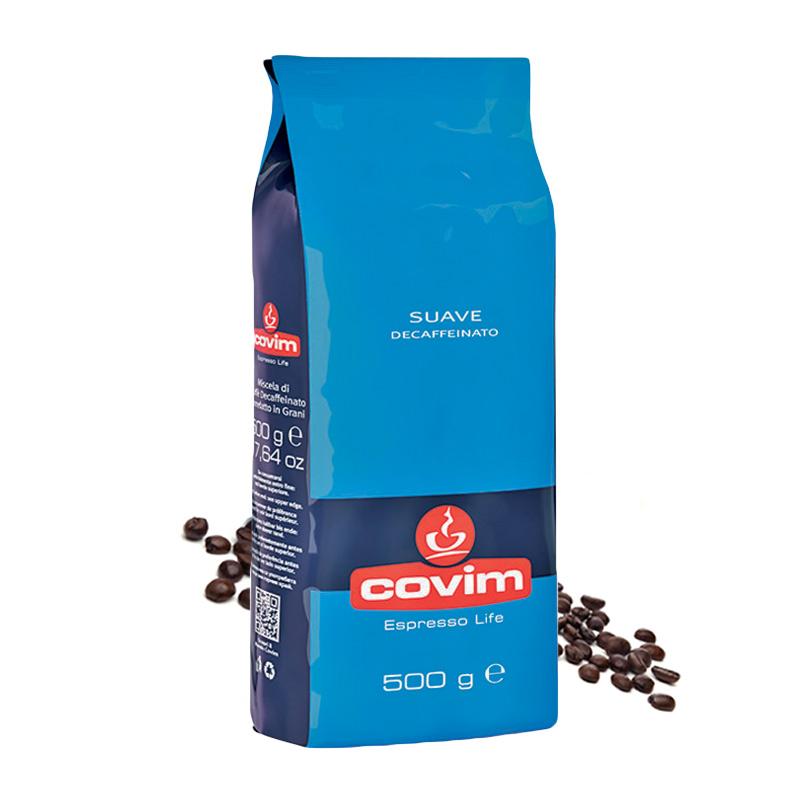 Covim Suave Decaffeinato cafea boabe 500g
