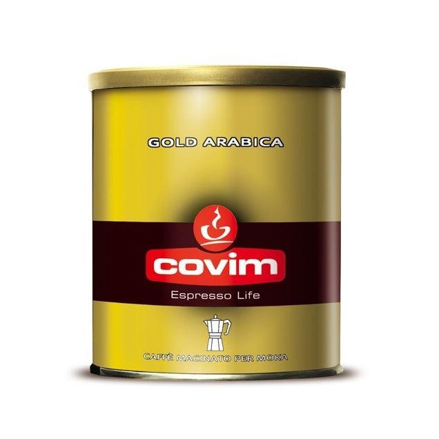 Covim Gold Arabica cafea macinata cutie 250gr