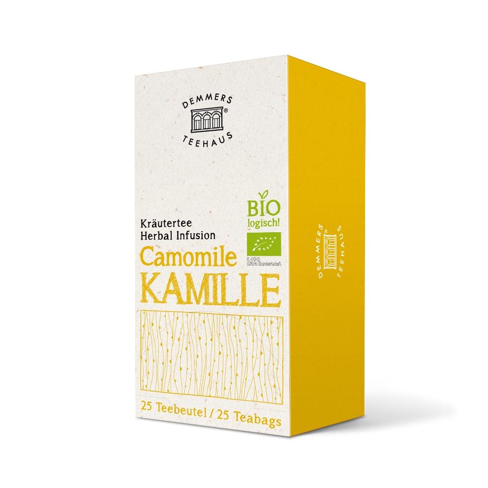 Demmers Camomile Bio Quick-T ceai de musetel cutie 25 plicuri