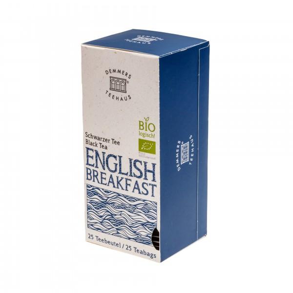 Demmers English Breakfast Bio Quick-T ceai 25 plicuri