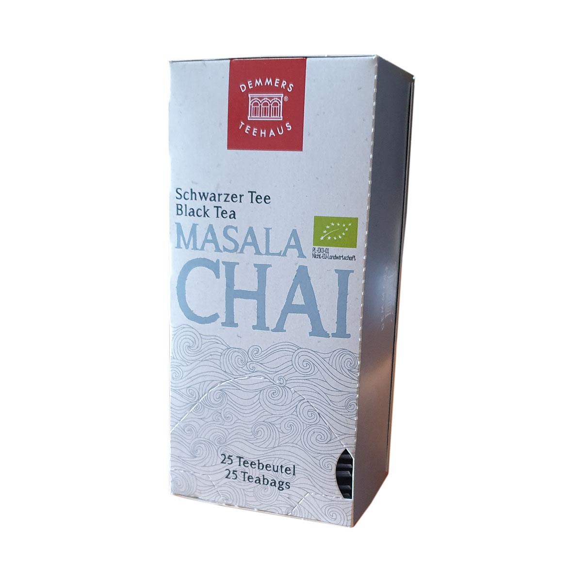 Demmers Masala Chai Bio Quick-T ceai negru cutie 25 plic
