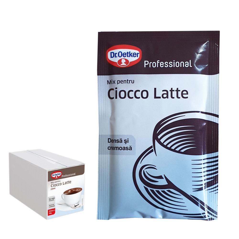 Dr Oetker ciocolata densa cutie 25 plicuri
