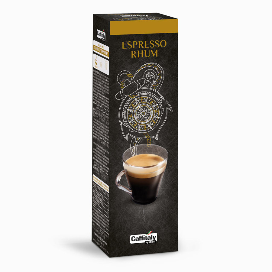 E-Caffe Espresso Rhum capsule 10 buc