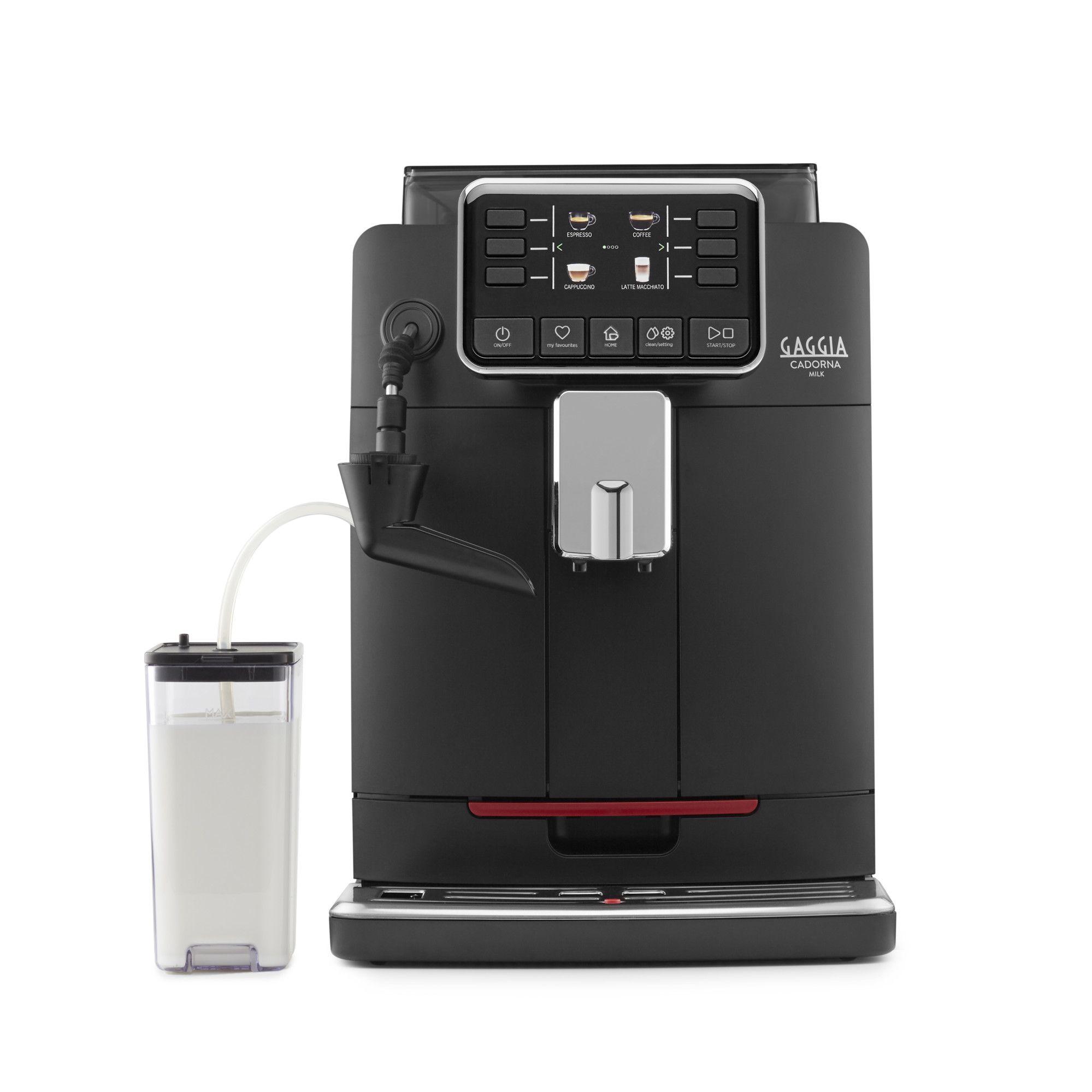 Espressor automat Gaggia Cadorna Milk, 15 bari, 1.5 l, 300g, contorizare, profile, cappuccinator, cafea cadou