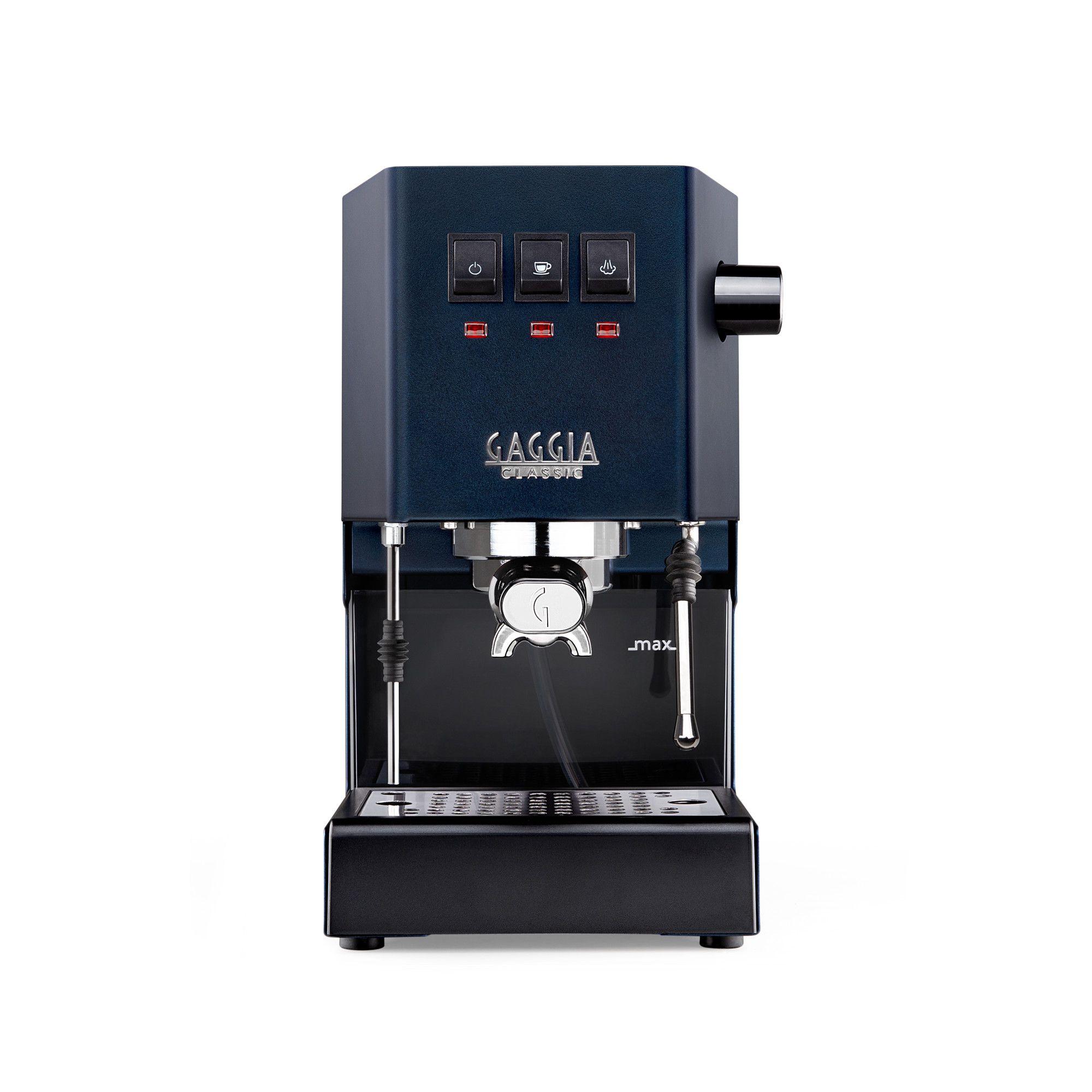 Espressor manual Gaggia Classic 2019 Bleumarin, 1050 W, 2.1 L, 15 bar, cadou Tamper Motta 58 mm