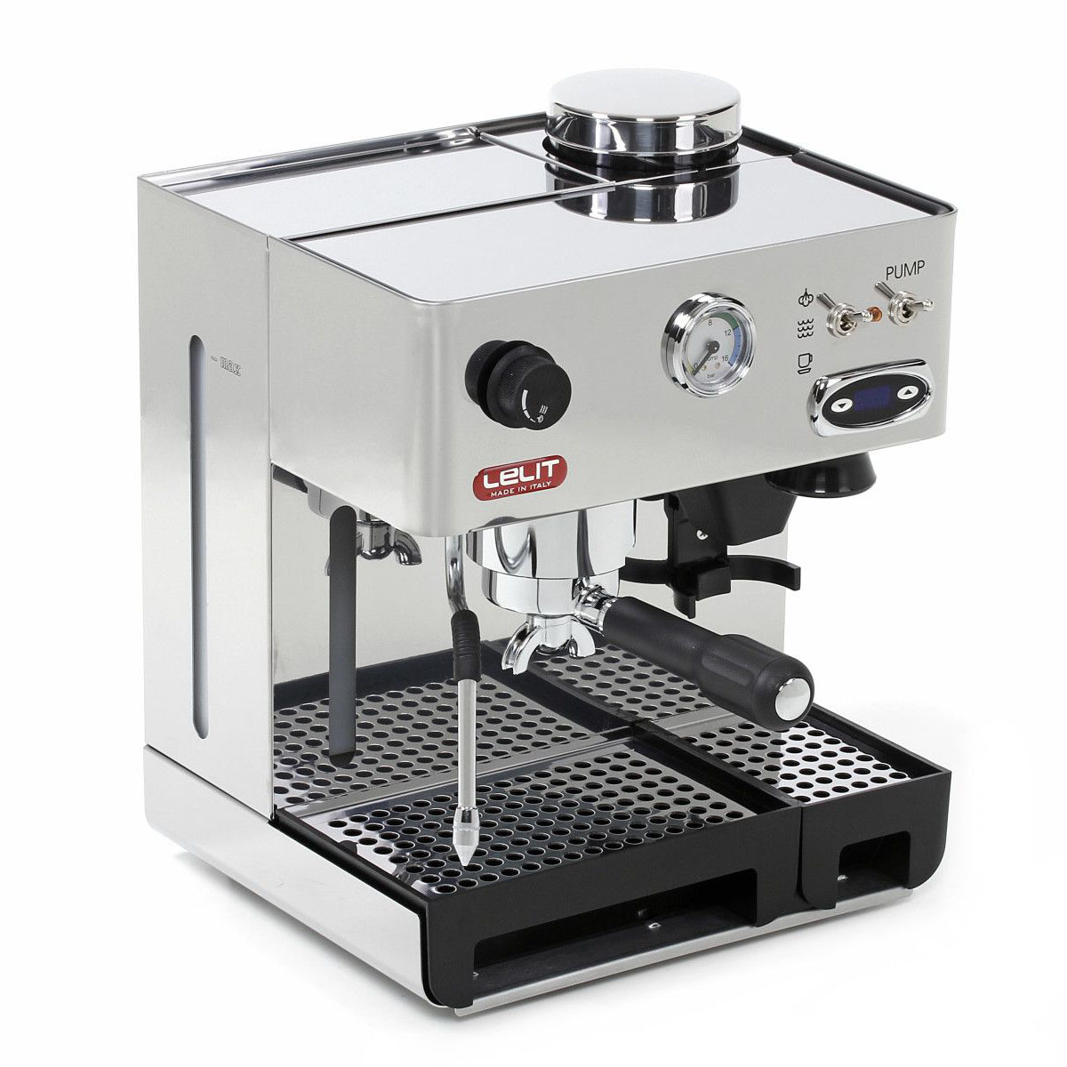 Espressor manual Lelit PL 42 TEMD, 1000 W, 2.7 L, 15 bar, rasnita, manometru, PID