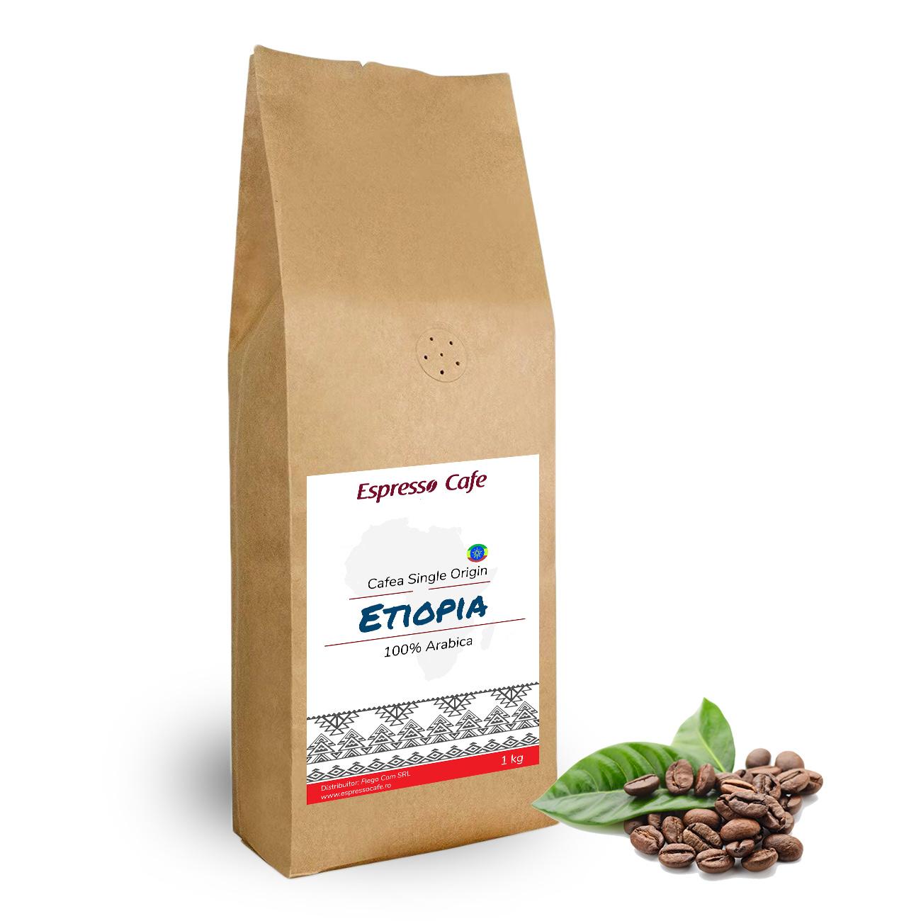 Etiopia Sidamo cafea boabe de origine 1kg