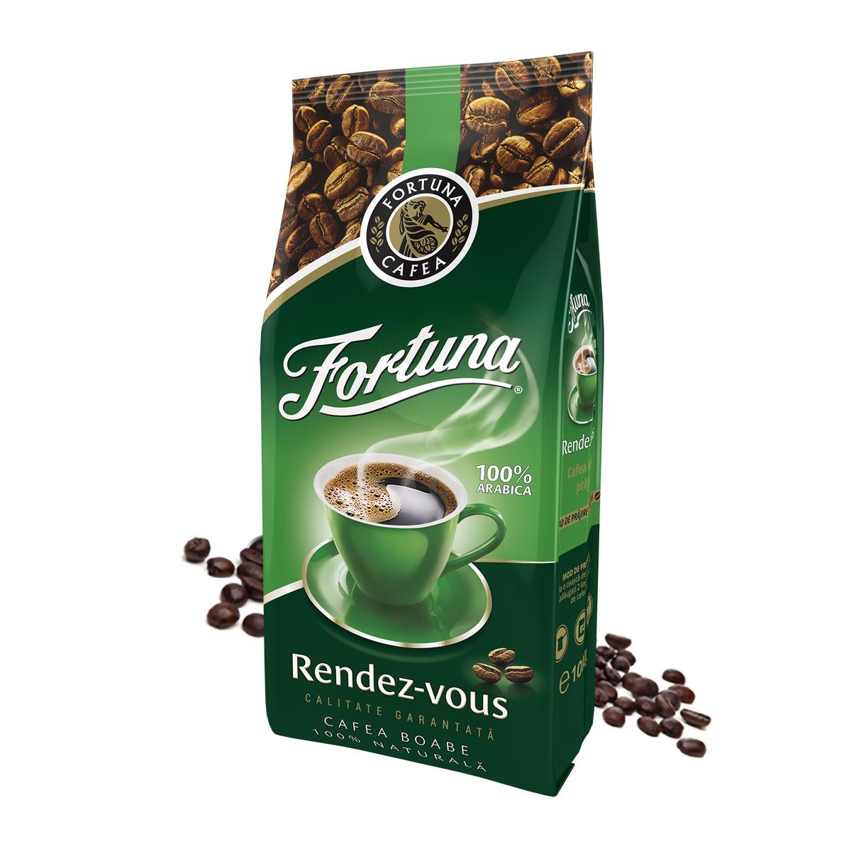 Fortuna Rendez-Vous verde cafea boabe 1kg