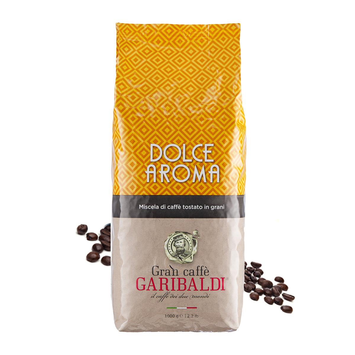 Garibaldi Dolce Aroma cafea boabe 1 kg