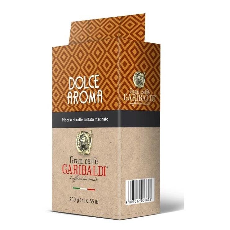 Garibaldi Dolce Aroma cafea macinata 250g