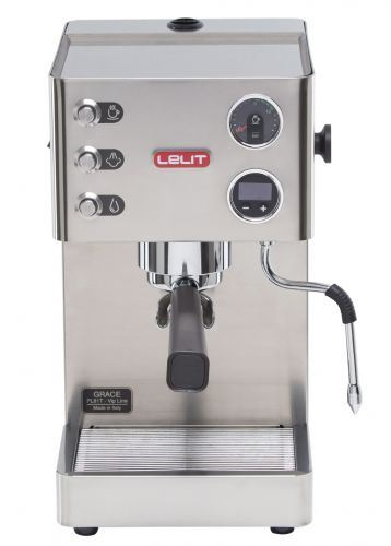 Espressor manual Lelit VIP PL 81T, 1000 W, 2.7 L, 15 bar, manometru, PID