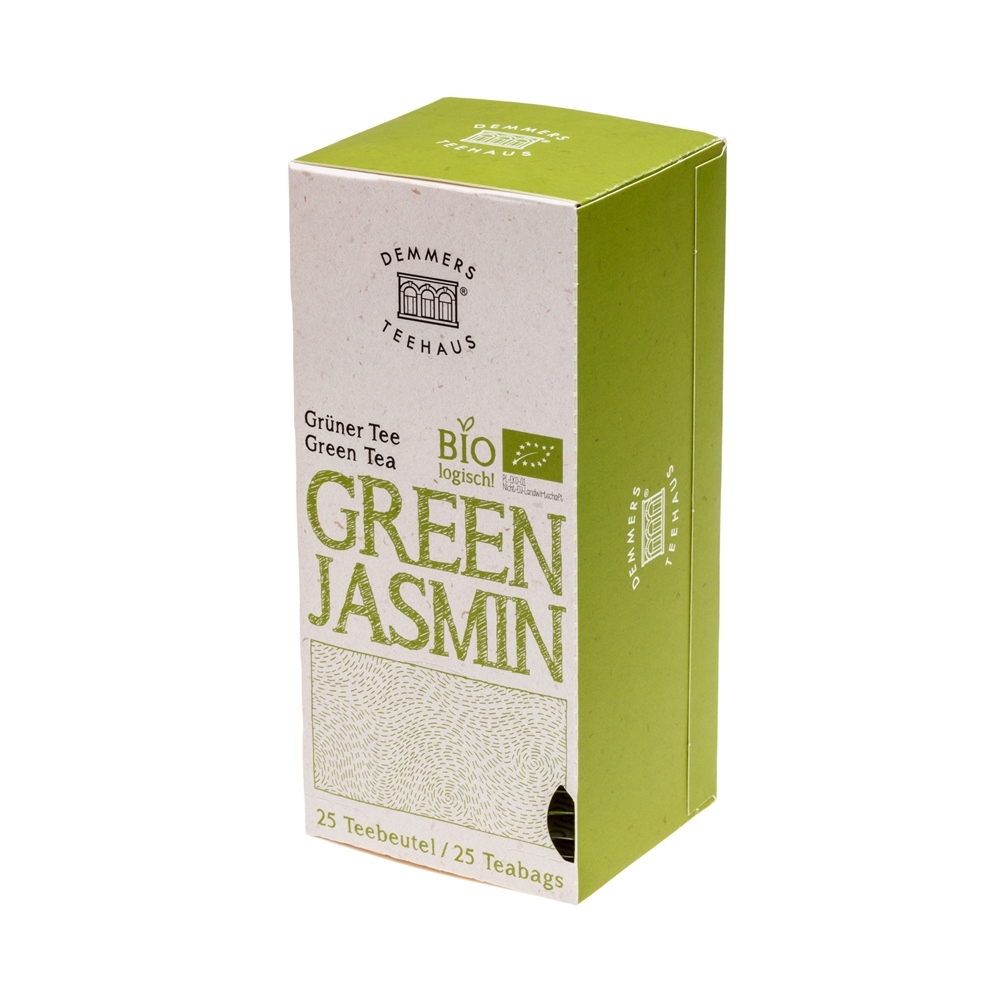 Demmers Green Jasmin Bio Quick-T ceai verde cutie 25 plic