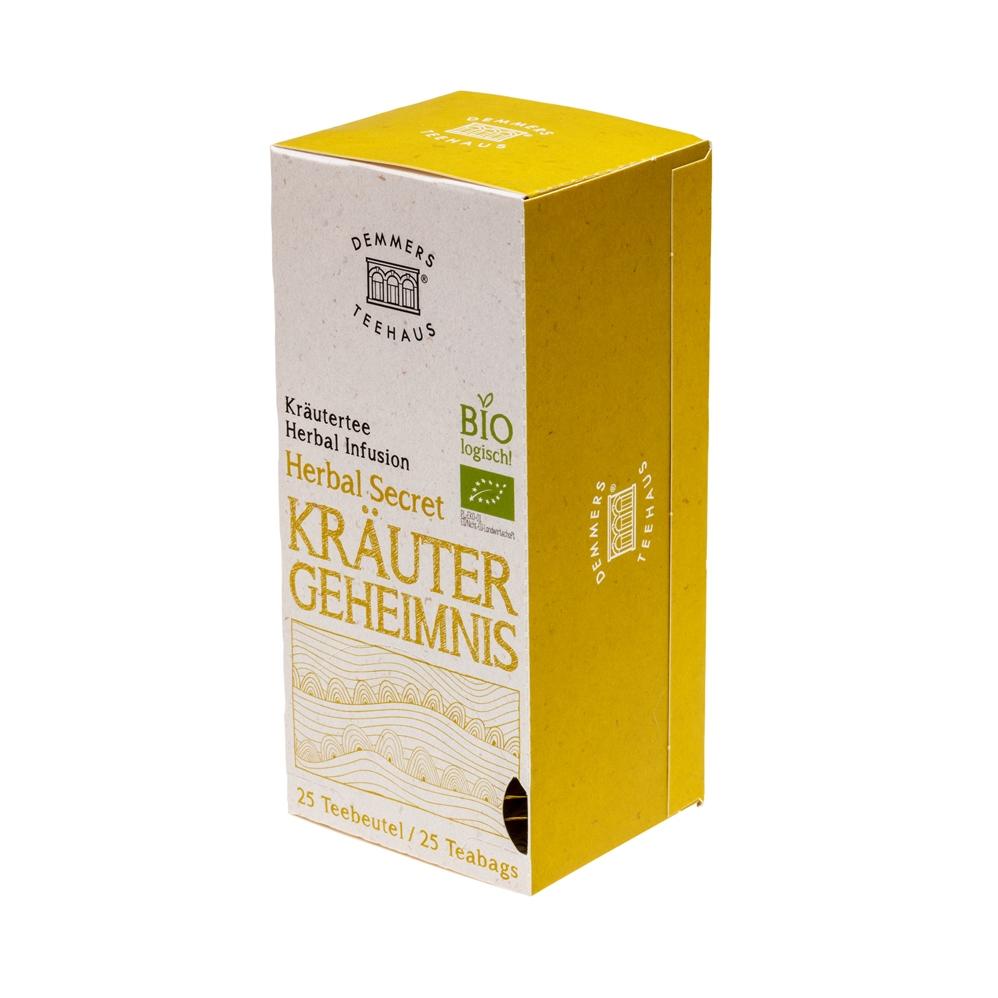 Demmers Herbal Secret Bio Quick-T ceai aromat cutie 25 plicuri