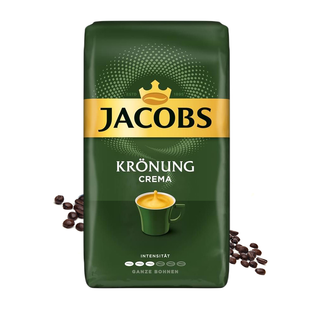 Jacobs Kronung Crema cafea boabe 1 kg