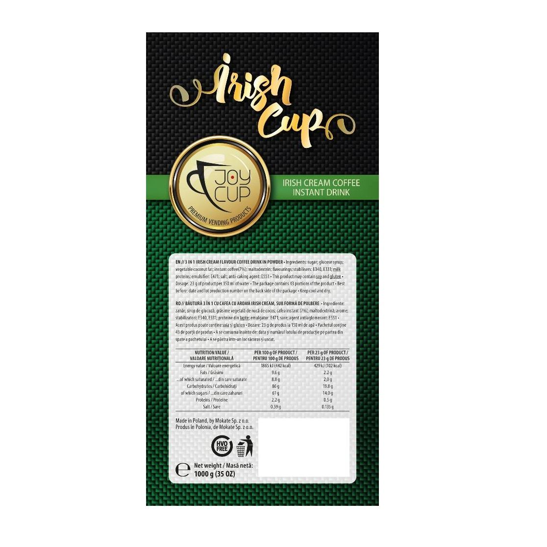 Joy Cup cappuccino irish cream 1 kg