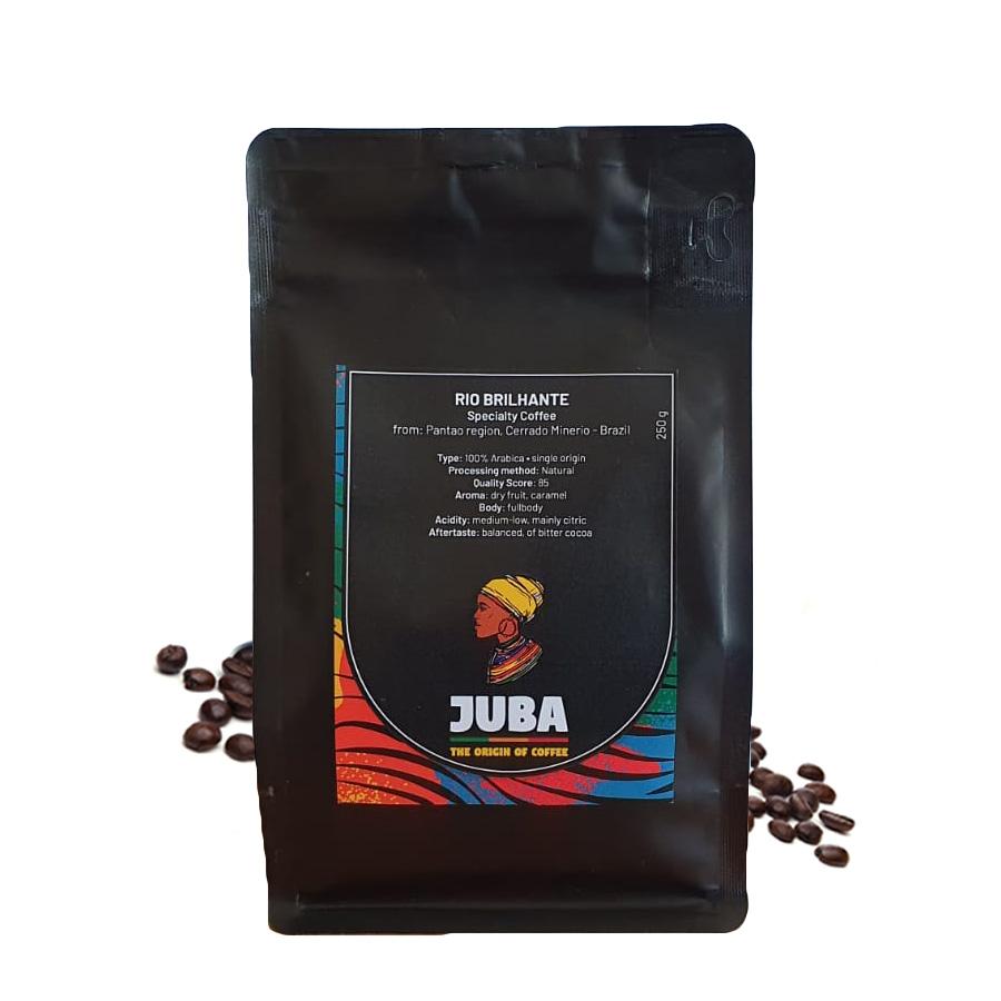 Juba Rio Brilhante Brazil cafea de specialitate 250g