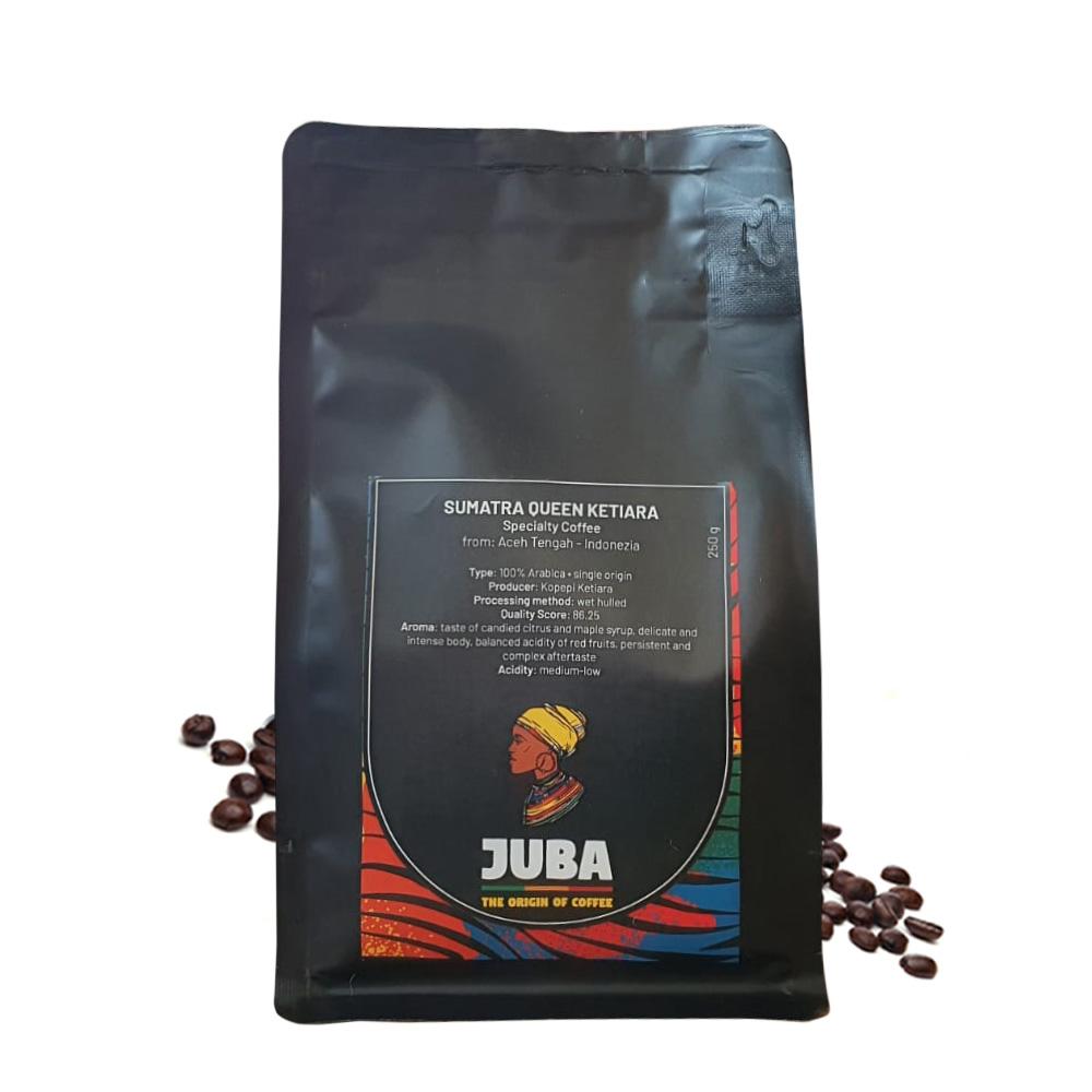 Juba Sumatra Queen Ketiara Indonezia cafea de specialitate 250g
