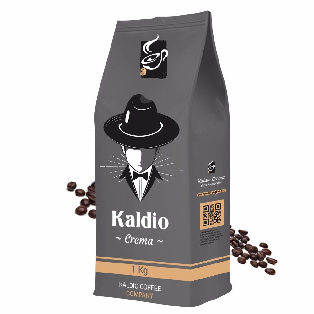 Kaldio Crema cafea boabe 1kg