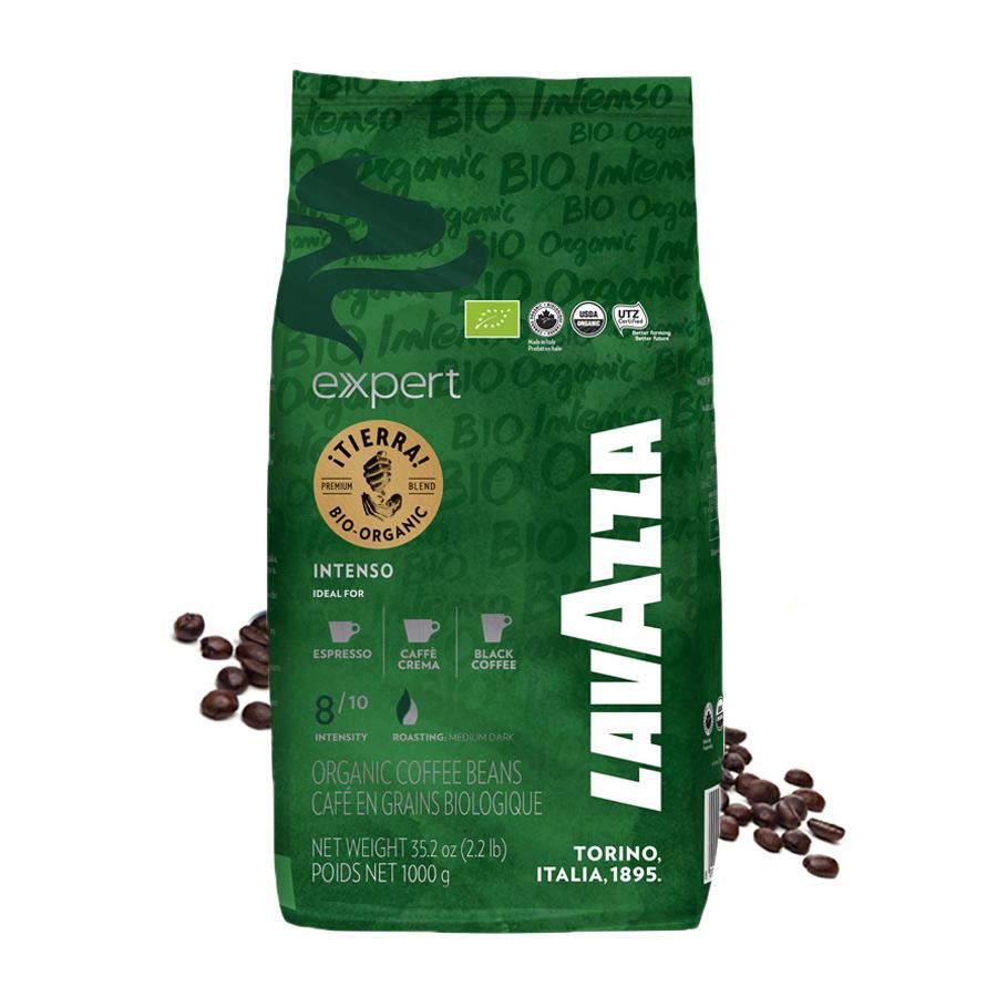 Lavazza EXPERT Tierra Bio Organic Intenso cafea boabe 1kg