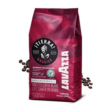 Lavazza Tierra Brasile Extra cafea boabe 1kg