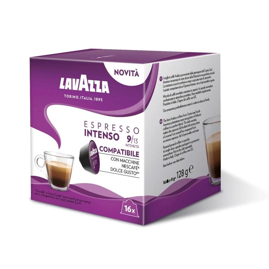 Lavazza Espresso Intenso capsule compatibile Nescafe Dolce Gusto cutie 16 buc