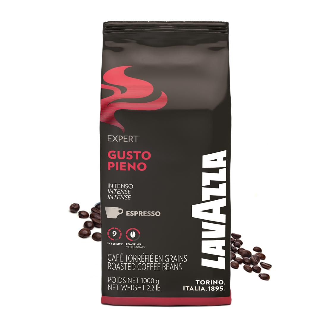 Lavazza Gusto Pieno cafea boabe 1 kg