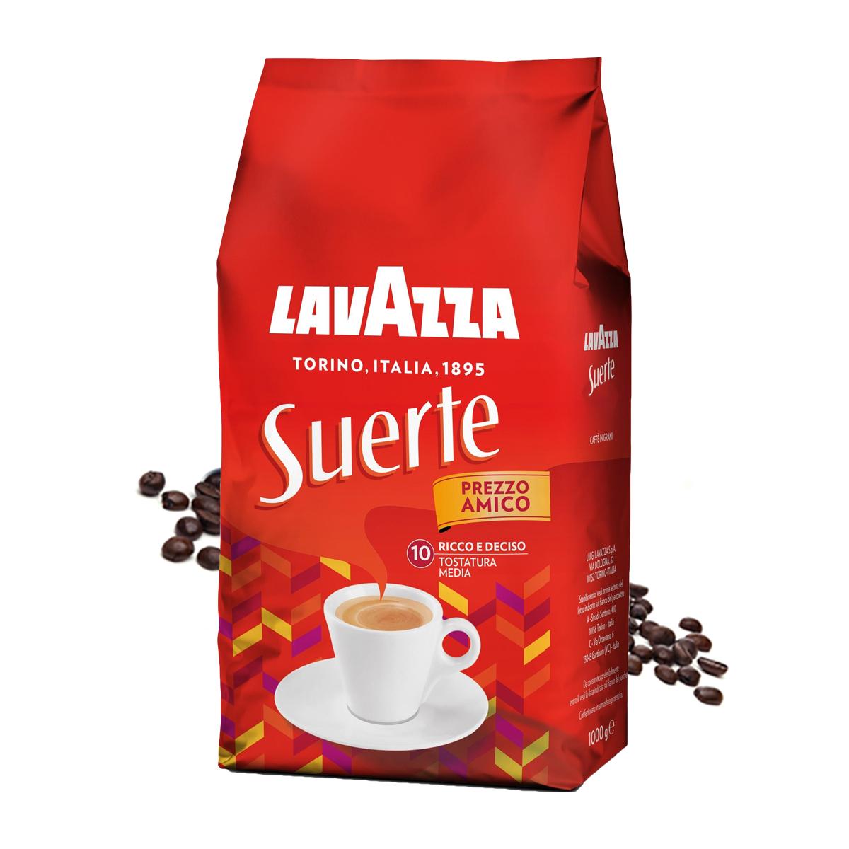 Lavazza Suerte cafea boabe 1 kg