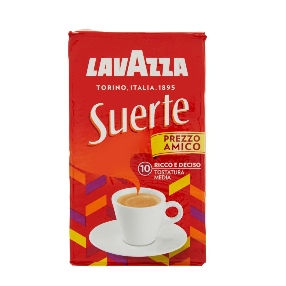 Lavazza Suerte cafea macinata 250g
