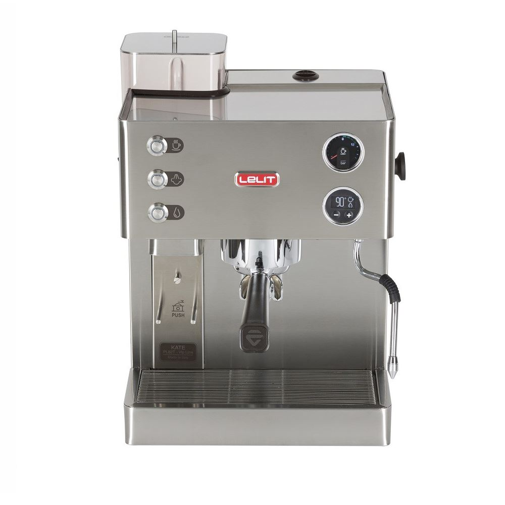Espressor manual Lelit VIP PL 82 T, 1200 W, 2.7 L, 15 bar, rasnita, manometru, pid