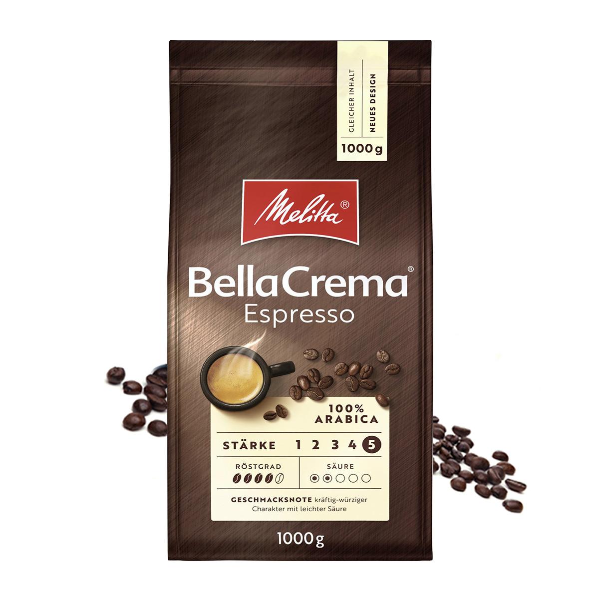 Melitta Bella Crema Espresso cafea boabe 1 kg