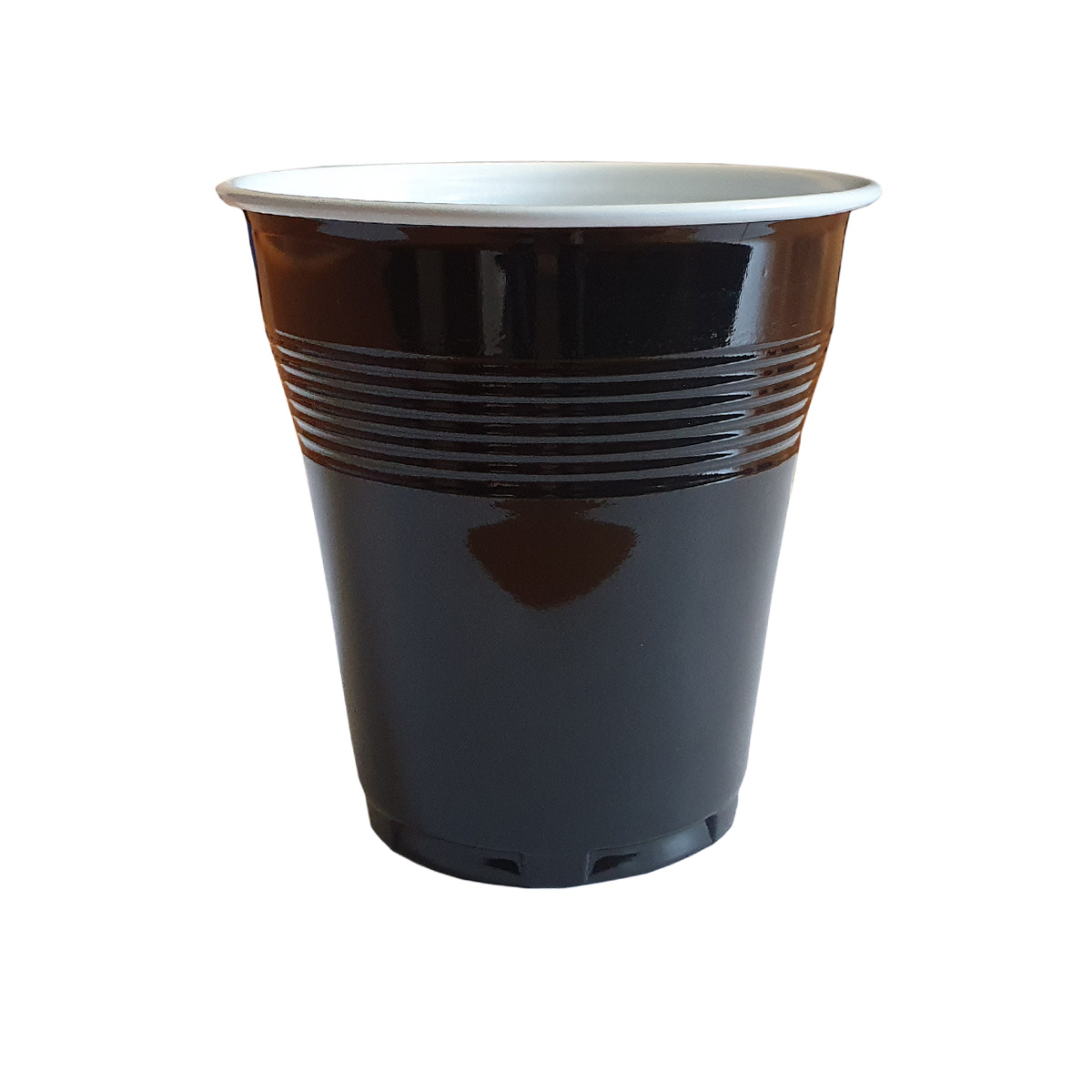 Pahare automate negre set 100 buc