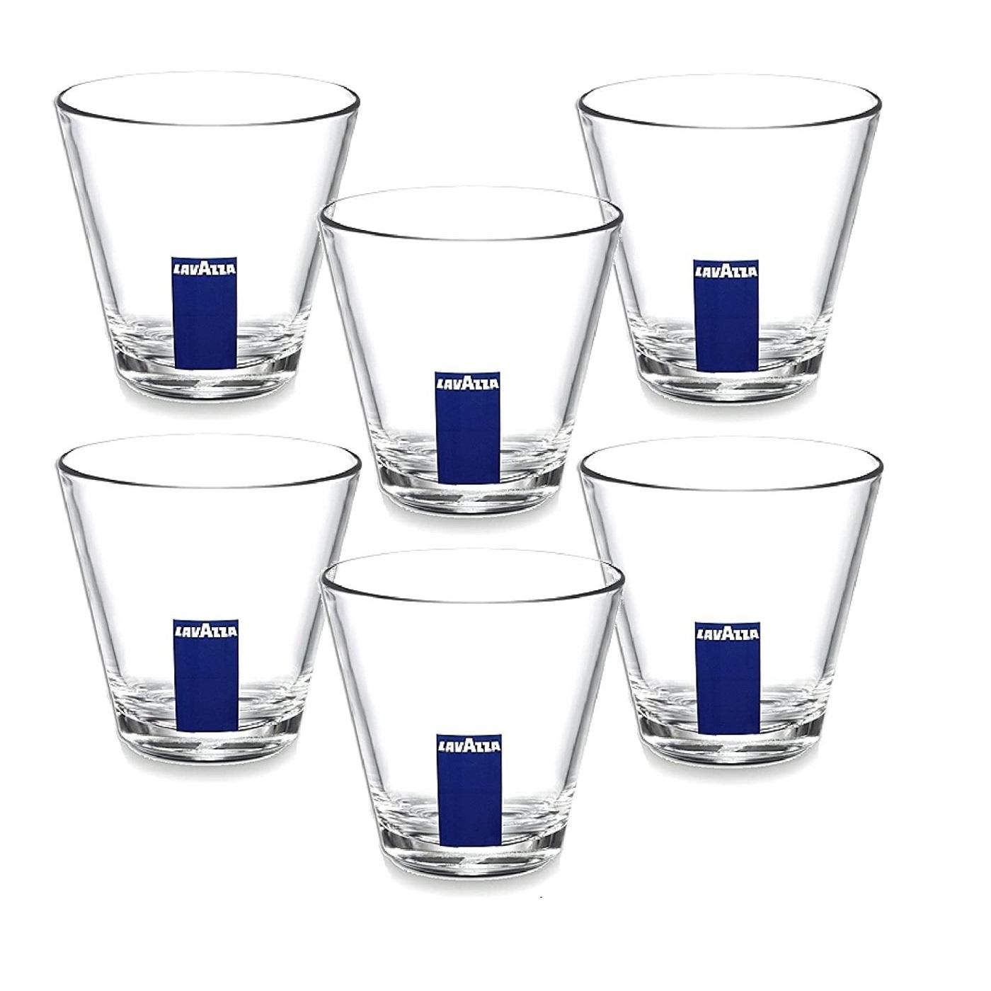 Lavazza pahare sticla medii 320 ml set 12 buc PLA3222