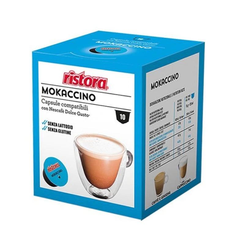 Ristora Mokaccino capsule compatibile Nescafe Dolce Gusto cutie 10 buc
