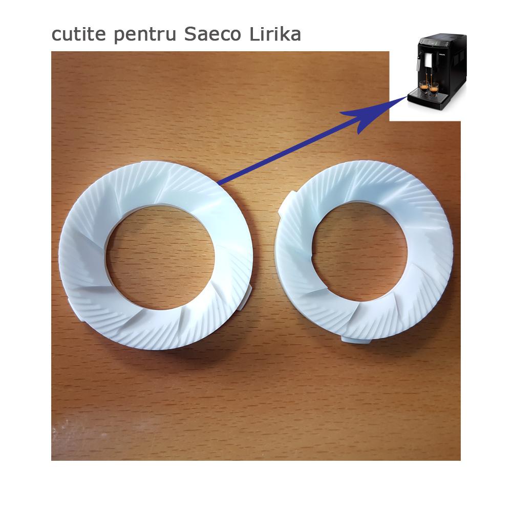 Saeco Lirika cutite rasnita ceramica set 2 buc 14652010