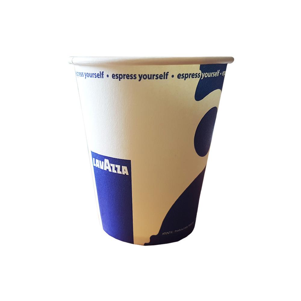Siba 6oz pahare carton Lavazza set 50 buc