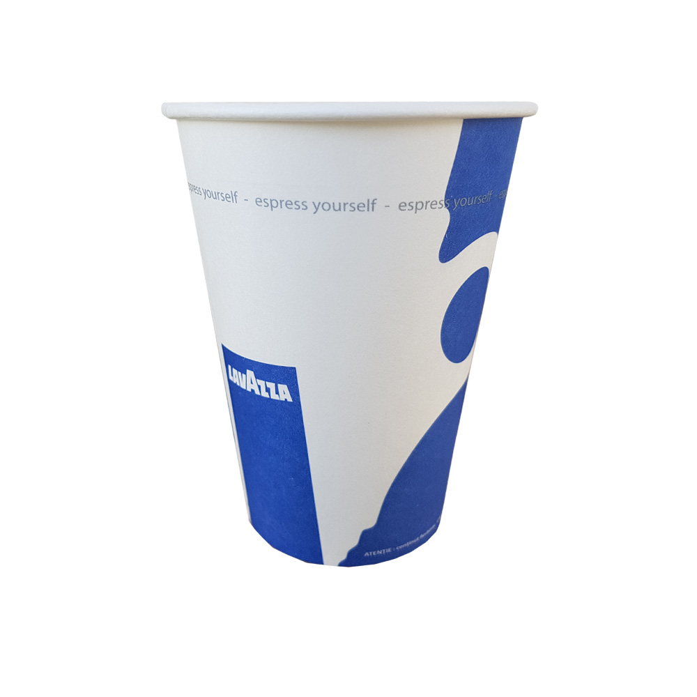 Siba 7oz pahare carton Lavazza set 50 buc
