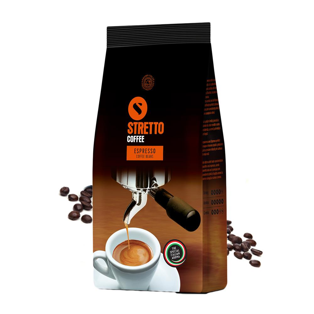 Stretto Espresso cafea boabe 1 kg