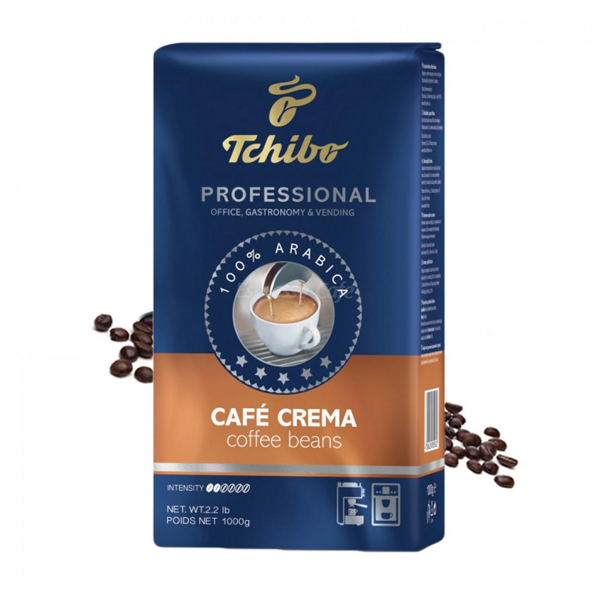 Tchibo Professional Caffe Crema cafea boabe 1 kg