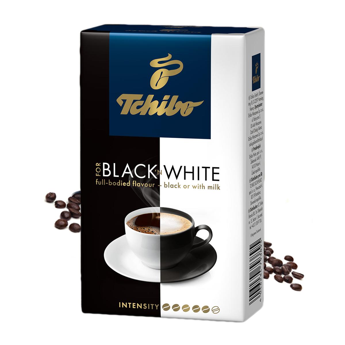 Tchibo Black White cafea boabe 1 kg