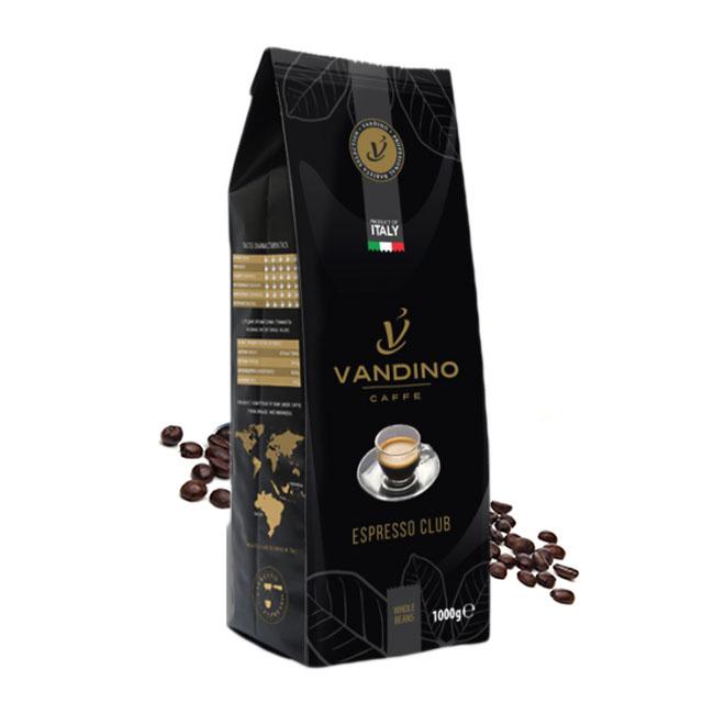 Vandino Espresso Club cafea boabe 1kg